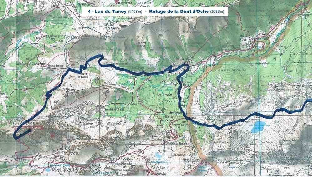 9-Lac du Tanet - Ref de la Dent d'Oche 2 bd